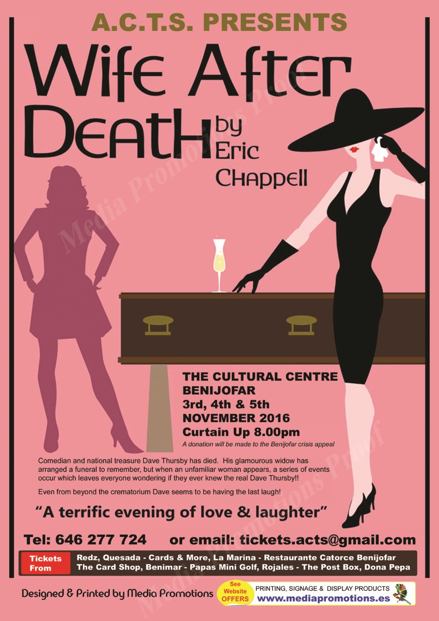 Wife After Death Poster The Leader Newspaper # Muebles Benijofar