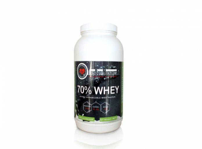 70% Whey Protein from www.teambodymechanics.fitness