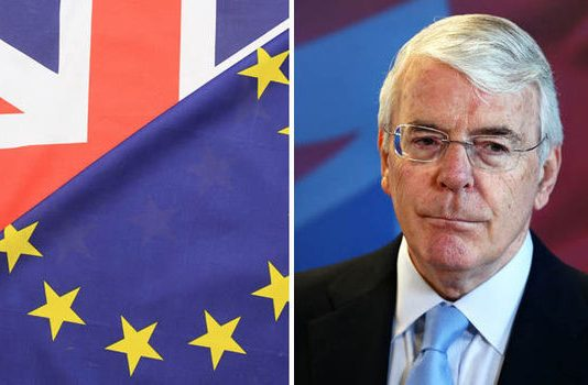 """John Major: """"Perfectly credible"""" case for second Brexit referendum"""