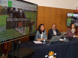 Presentacion video golf en colegios (Foto: Fernando Herranz)