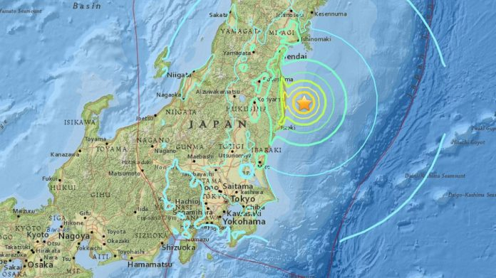 6.9 magnitude earthquake sparks Japan tsunami warning