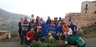 Reforestación en el monte Fajardo