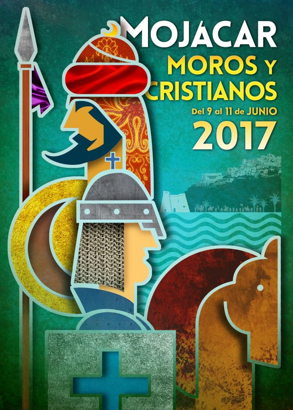 MOJÁCAR'S 1st MOORS AND CHRISTIANS FIESTA POSTER COMPETITION