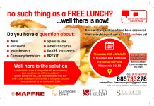 Answers and Free Lunch in Spain