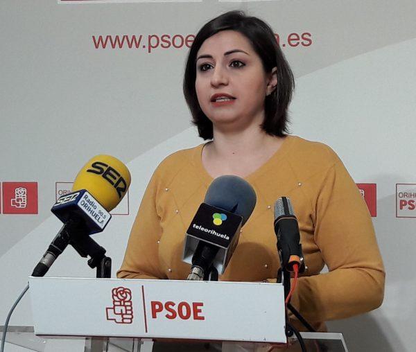 PSOE Councillor Maria Garcia