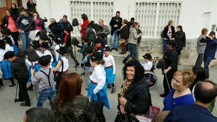 CEIP Gloria Fuertes enjoy carnival in San Miguel de Salinas, February 2017