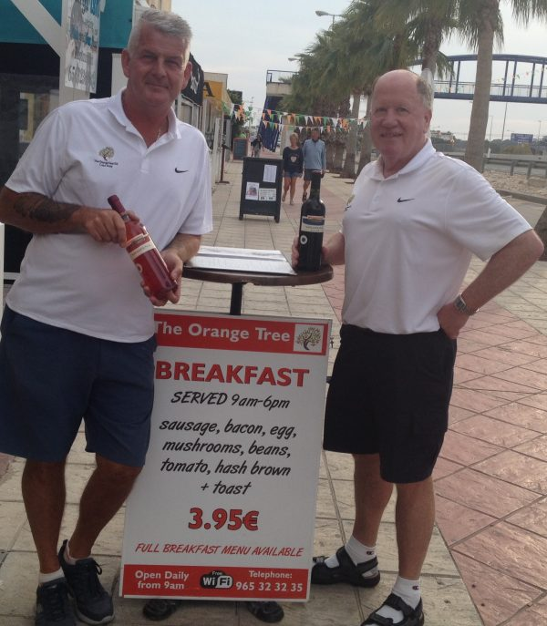 THE ORANGE TREE GOLF SOCIETY @ LA TORRE ON TUESDAY 21ST MARCH