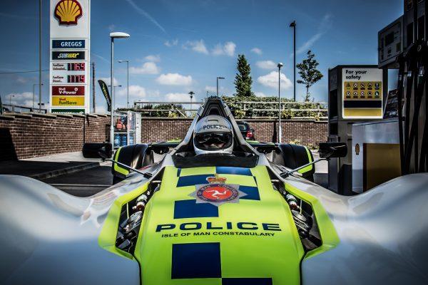 BRIGGS AUTOMOTIVE UNLEASH FIRST-EVER BAC MONO POLICE CAR