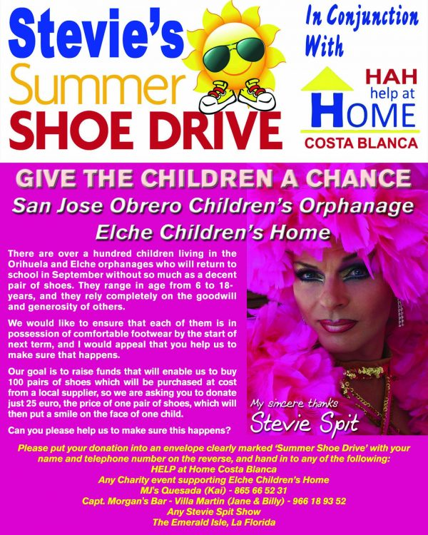 STEVIE'S SUMMER SHOE DRIVE