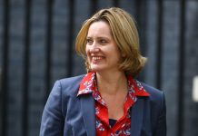 Amber Rudd: EU citizens will be allowed to live and work in England after Brexit
