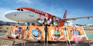 easyJet's Flybrary lifts off to get children hooked on a book this summer
