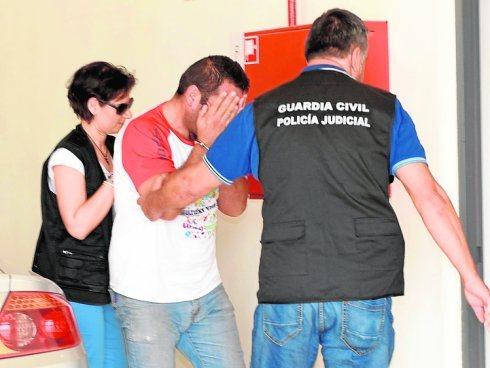 Torrente following his arrest