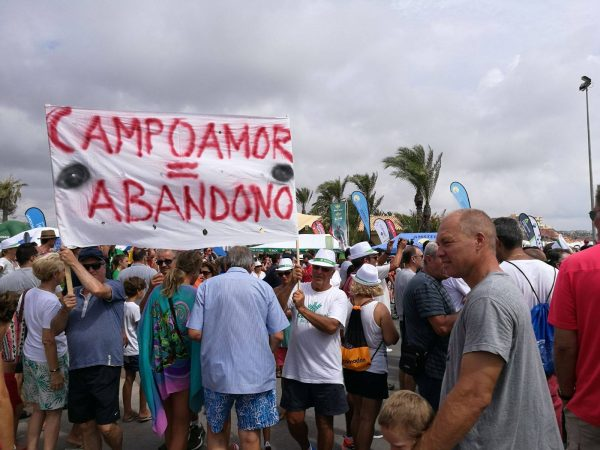 La Vuelta becomes stage for Campoamor demonstration