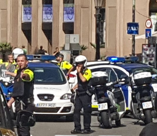 Several wounded as vehicle ploughs into pedestrians in Barcelona (Source: https://twitter.com/jordisansn)