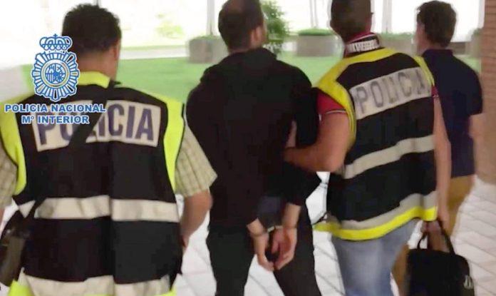 British school teacher arrested in Spain on suspicion of distributing child pornography