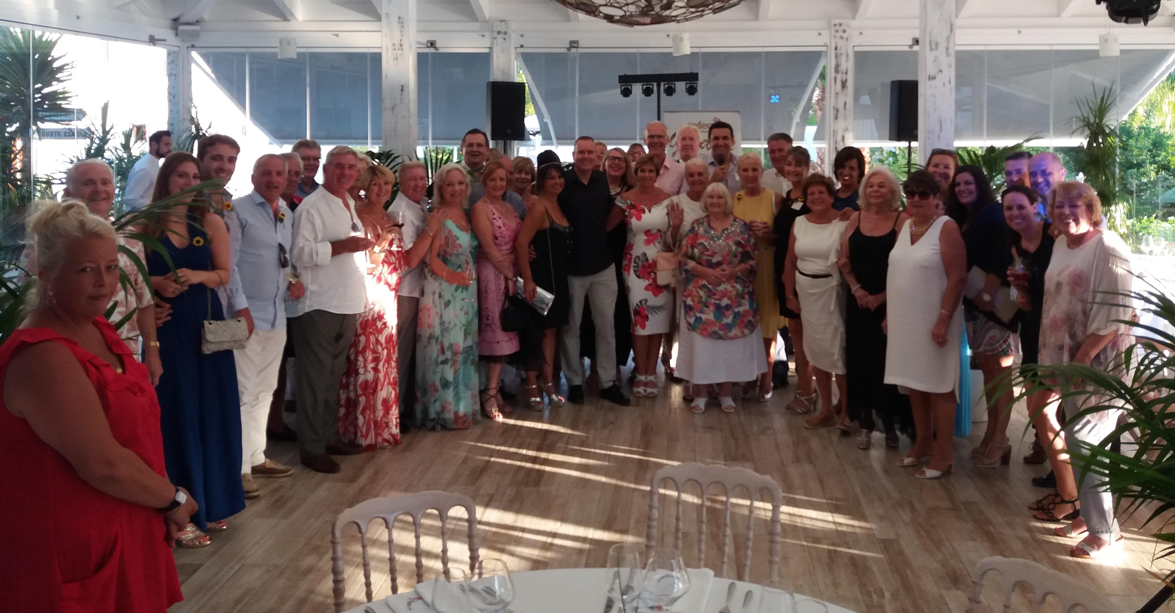 Grand Annual Moonlight Gala at Lew Hoad Tennis Club in Mijas The