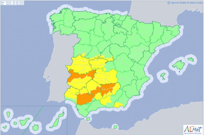 Summer heatwave set to return to Spain as AEMET issues new weather warnings