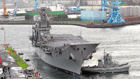 ShipRecycling: Spanish Aircraft Carrier Prince Of Asturias