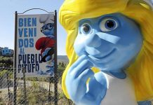 Hi ho, hi ho, it's off from Júzcar we go... Smurfs leave Andalucian village for good