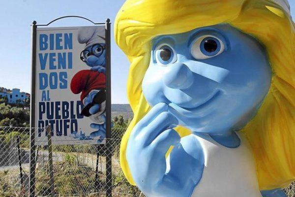 Hi ho, hi ho, it's off from Júzcar we go... Smurfs leave Andalucian village for good