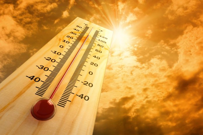 Scorching heat and record temperatures in parts of the Spanish Costas