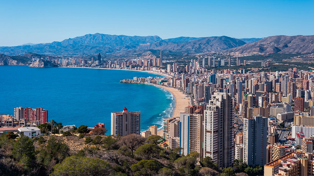 Benidorm Becomes Fifth Most Searched For Location In The World For  # Muebles Benidorm
