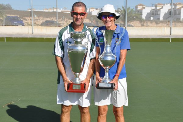 Levante Lawn Bowls South Alicante Summer Knockout Finals 2017