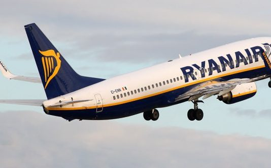 Ryanair flight makes emergency landing at East Midlands Airport after losing wheel