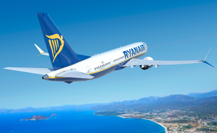 Ryanair jet carrying 166 people close to hitting ground