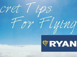 Seven tips for flying Ryan Air