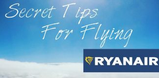 Seven tips for flying Ryan Air