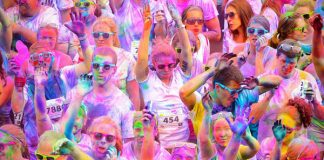 Get ready, get set for Benidorm's amazing Colour Run