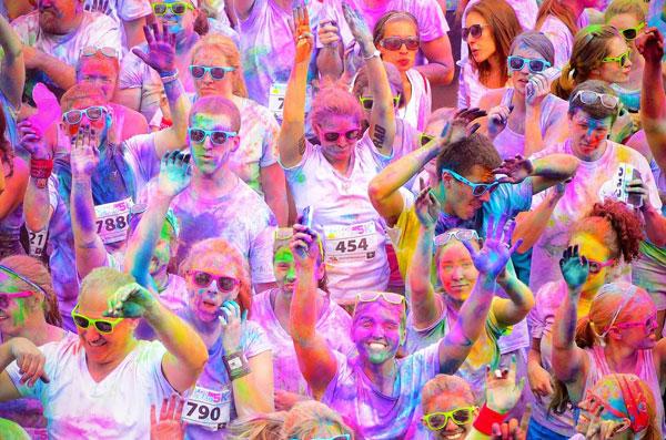 Get ready, get set for Benidorm's amazing Colour Run