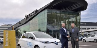 Electric cars for Madrid as Ferrovial and Renault seal a deal