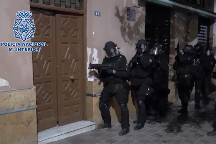Jihadist terror cell smashed as six arrested while planning large-scale attacks in Spain and Morocco