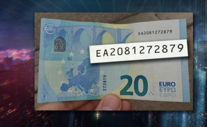 Win €6000 this weekend! All you have to do is locate this lucky €20 note!