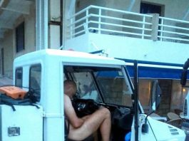 Tourist arrested for drinking and driving in the nude (Photo: @terraferida)