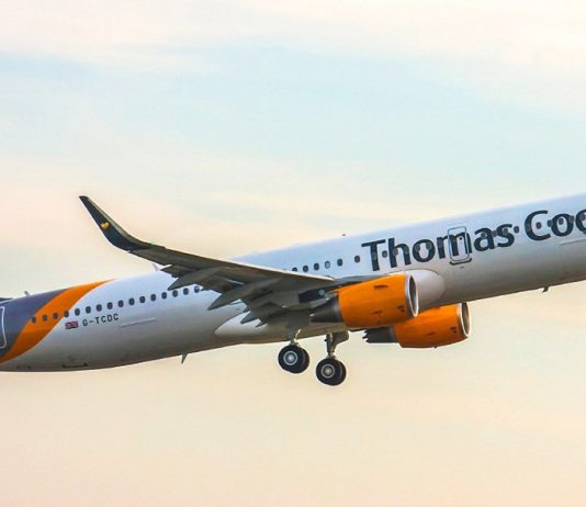 Pilots at British Airline Thomas Cook take strike action following real-term pay cuts