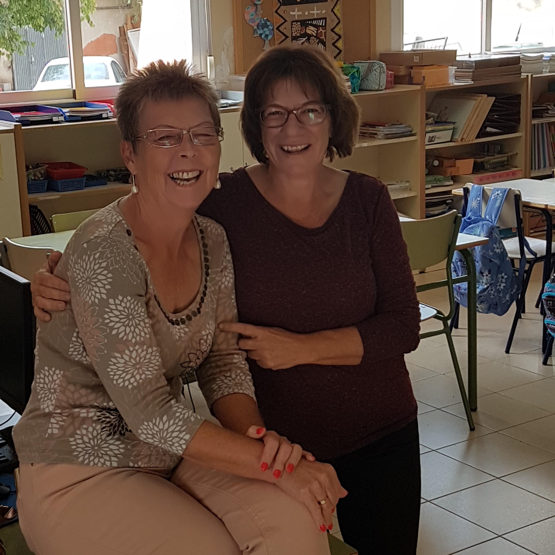 Javea Lodge visits the new Library Corner in Benigembla village school.