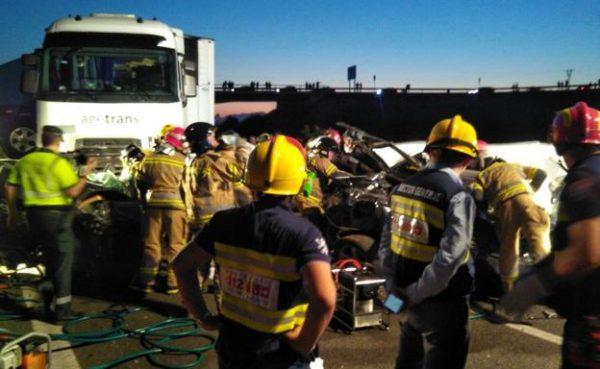 Crash kills five on Murcia motorway