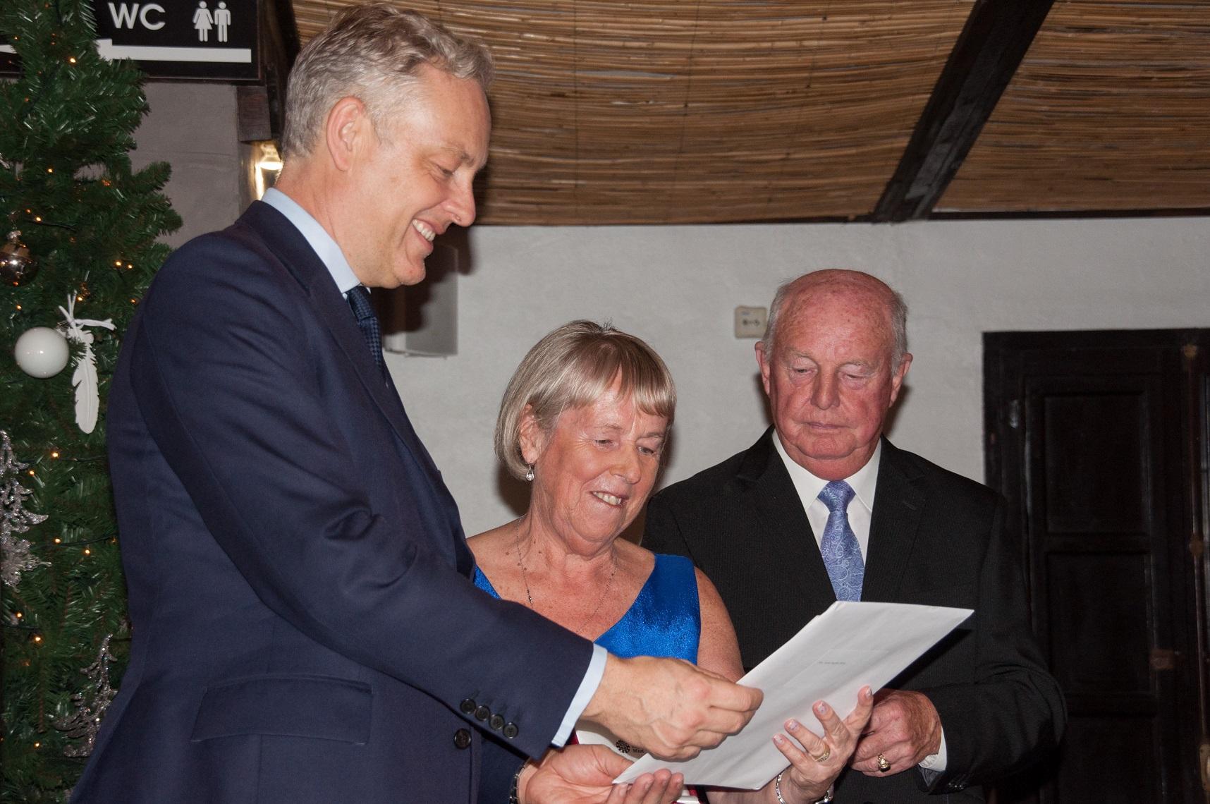 HMA Simon Manley presents Birthday Honours