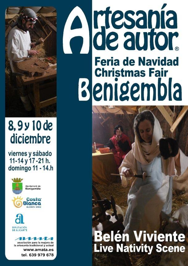 Christmas Fair with Live Nativity Scene in Benigembla
