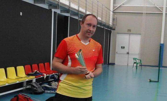 Mens singles champion Nico Nicolay