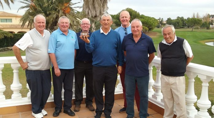 Pego Golf Society compete for Copa De Escocia