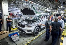 Production of Volvo's first ever small premium SUV begins in Belgium