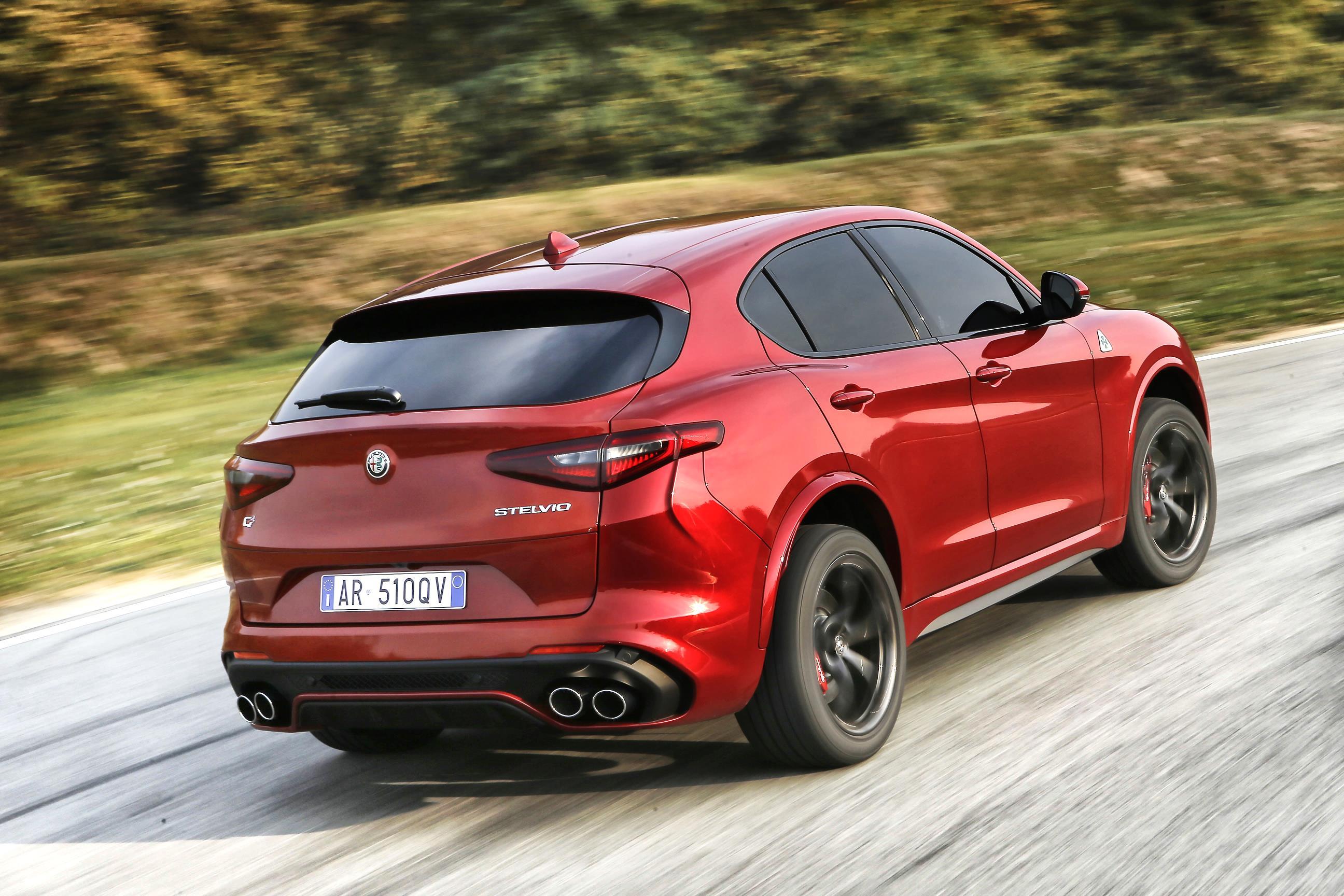 The New Alfa Romeo Stelvio Quadrifoglio The Leader Newspaper