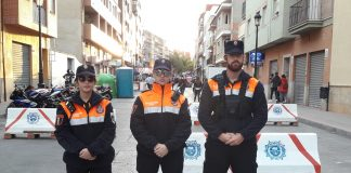 Torrevieja Civil Protection on duty at Motorcycle World Championship