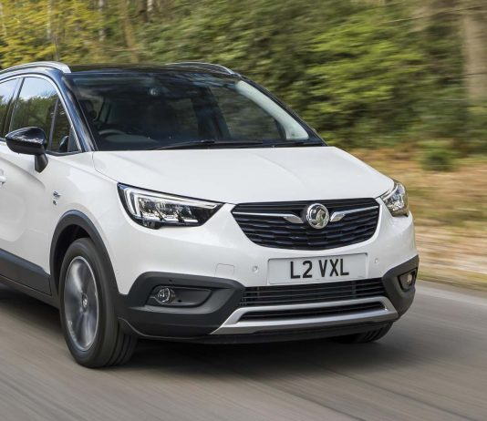 Vauxhall's All-New Crossland X achieves Five-Star Euro Ncap Rating