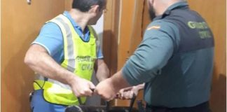 Guardia make 14 arrests in Almoradí