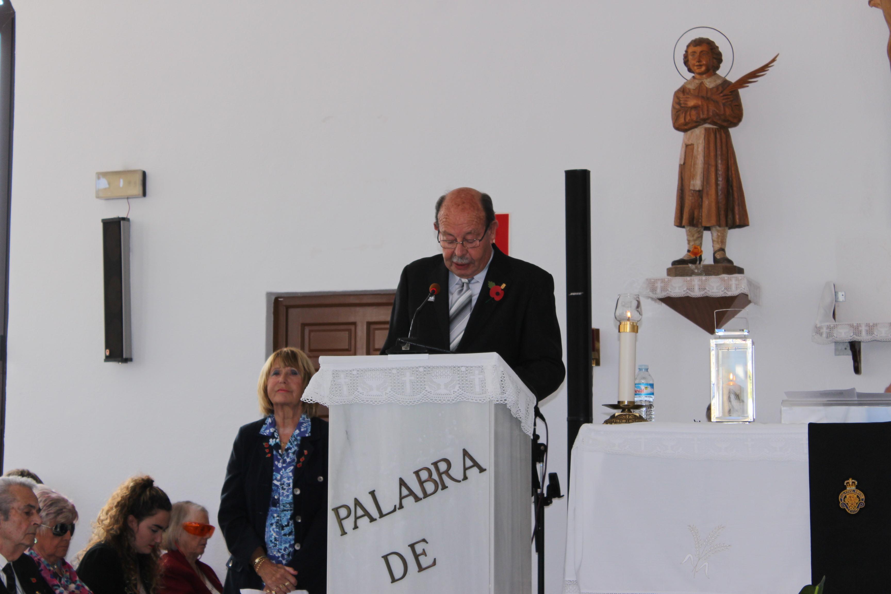 The mayor of Pilar de la Horadada, Ignacio Ramos